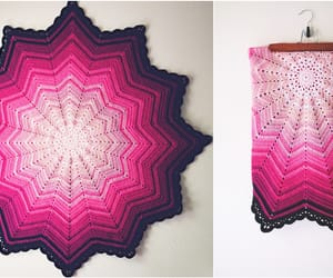 blanket, home decor, and crochet pattern image