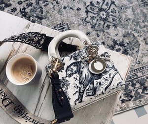 bag, fashion, and coffee image