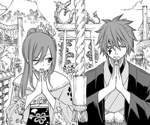 fairy tail, erza scarlet, and jellal fernandes image