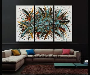abstract art, Abstract Painting, and Oilpainting image