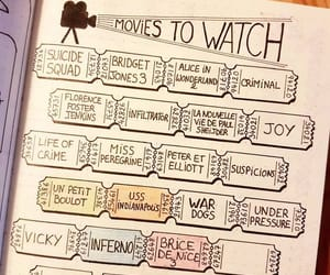 bullet journal, journal, and ideas image
