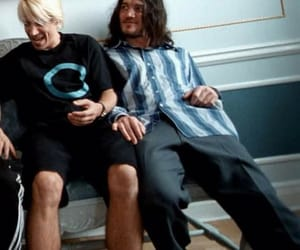 anthony kiedis, John Frusciante, and red hot chili peppers image