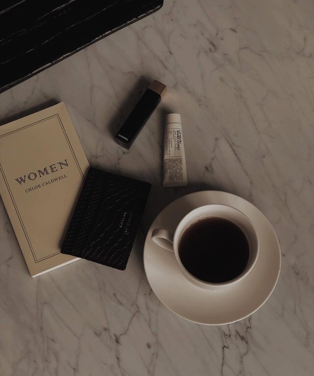 book, coffee, and black coffee image