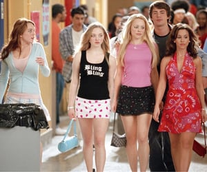 mean girls, lindsay lohan, and rachel mcadams image