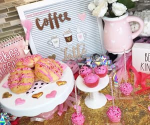 cake pops, coffee, and donuts image