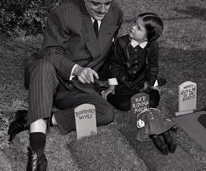 john astin, the addams family, and lisa loring image