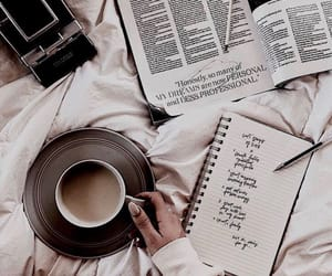 coffee, book, and relax image