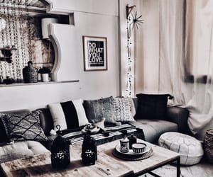 boho, decor, and design image