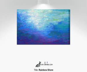 Abstract Painting, canvas wall art, and canvas art print image