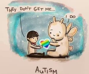 autism, drawing, and colors image