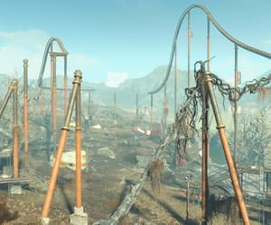 apocalypse, fallout, and rollercoaster image