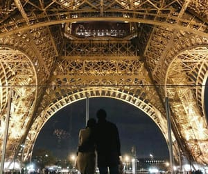 beautiful, couple, and france image