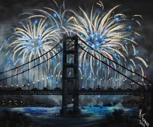 blue, celebration, and night image