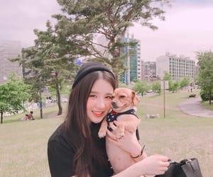 girl, korea, and heejin image