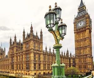Big Ben, clock tower, and london image