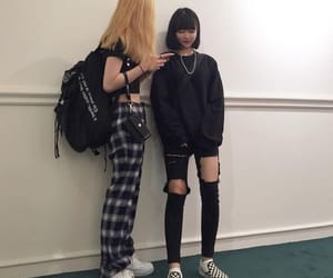 friends, asian, and grunge image