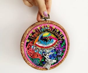 embriodery, embroider, and needlepoint image