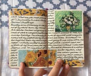 art journal, handwriting, and journaling image