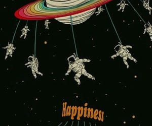 space, happiness, and wallpaper image