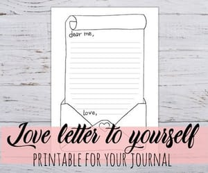 etsy, love letter, and valentines image