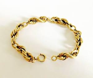 etsy, stacking bracelet, and twisted rope image