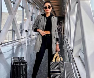 fashion, dior, and airport image