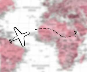 plane, background, and travel image