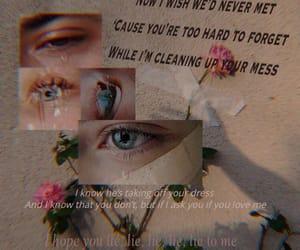 broken, crying, and eyes image