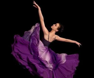 colorful, dancing, and purple image