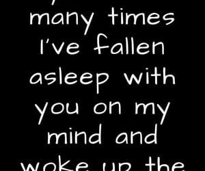 awake, thinking of you, and crush image