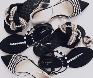 chanel, sandles, and shoes image
