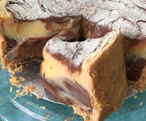 food, dessert, and pie image