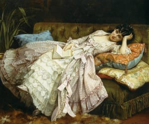 painting, art, and auguste toulmouche image