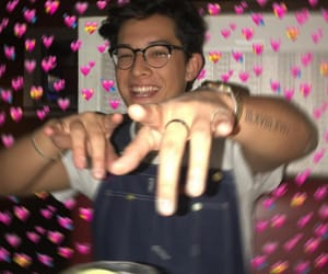 prettymuch, brandon arreaga, and heart meme image