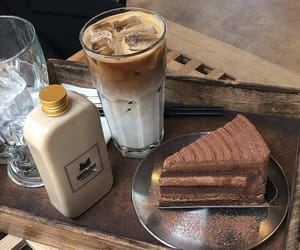 bakery, chocolate, and coffee image
