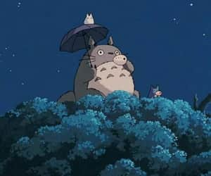 totoro, anime, and aesthetic image