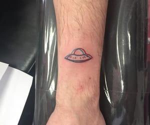 tattoo and ufo image