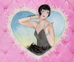1930, flapper, and heart image