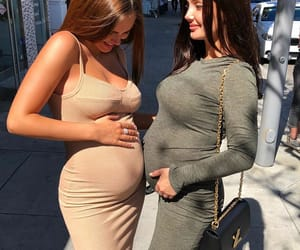 babies, pregnant, and best friends image