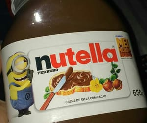 chocolate and nutella image