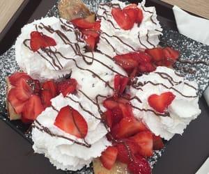 chocolate, crepe, and dessert image