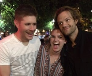 cast, sam winchester, and dean winchester image