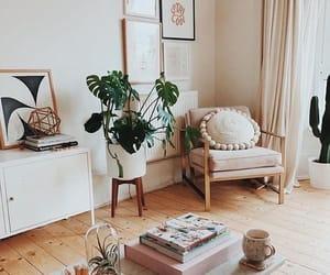 bohemian, plantas, and minimalista image