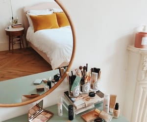 bedroom, chic, and color image
