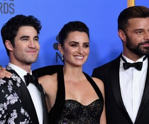 penelope cruz, criss colfer, and darren criss image