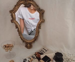 fashion, mirror, and aesthetic image