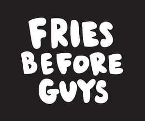 wallpaper, fries, and guy image