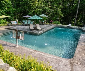 luxury, pool, and rich image