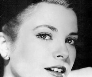 b&w, grace kelly, and lady image