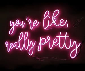 empowerment, neon, and complimenting light image
